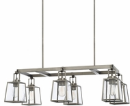 Capital Lighting 825561AN-447 Kenner Modern Antique Nickel Kitchen Island Light Fixture