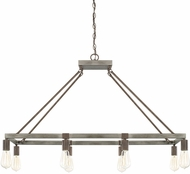 Capital Lighting 825981UG Zac Contemporary Urban Grey Island Lighting
