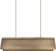 Capital Lighting 827781AD Wells Modern Aged Brass Kitchen Island Light