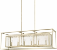 Capital Lighting 828361WG Modern Winter Gold Island Lighting