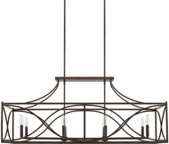 Capital Lighting 829181NG Contemporary Nordic Grey Kitchen Island Lighting