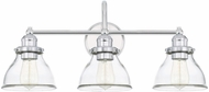 Capital Lighting 8303CH-461 Baxter Contemporary Chrome 3-Light Bathroom Vanity Light Fixture