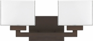 Capital Lighting 8342BB-155 Tahoe Modern Burnished Bronze 2-Light Lighting For Bathroom