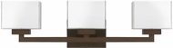 Capital Lighting 8343BB-155 Tahoe Modern Burnished Bronze 3-Light Bathroom Light