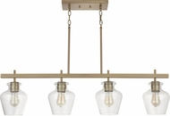 Capital Lighting 838141AD-489 Danes Aged Brass Kitchen Island Light