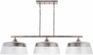 Capital Lighting 838231WY Decker Modern Washed Grey Island Lighting