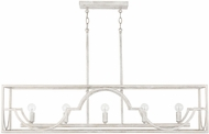 Capital Lighting 838551WW Demi Winter White Kitchen Island Light Fixture