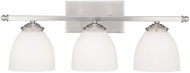 Capital Lighting 8403MN-202 Chapman Matte Nickel 3-Light Bathroom Sconce