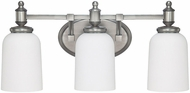 Capital Lighting 8443AN-102 Covington Antique Nickel 3-Light Bath Wall Sconce