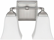 Capital Lighting 8452BN-119 Brushed Nickel 2-Light Bathroom Sconce Lighting
