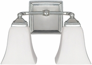 Capital Lighting 8452PN-119 Polished Nickel 2-Light Bath Lighting Sconce
