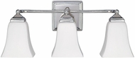 Capital Lighting 8453PN-119 Polished Nickel 3-Light Lighting For Bathroom