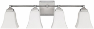 Capital Lighting 8454BN-119 Brushed Nickel 4-Light Bathroom Light