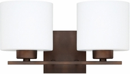 Capital Lighting 8492BB-103 Steele Burnished Bronze 2-Light Vanity Lighting