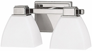Capital Lighting 8512PN-216 Polished Nickel 2-Light Bathroom Vanity Light Fixture