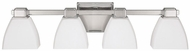 Capital Lighting 8514PN-216 Polished Nickel 4-Light Bath Lighting Sconce