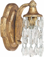 Capital Lighting 8521AG-CR Blakely Traditional Antique Gold Lamp Sconce