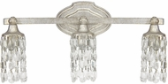 Capital Lighting 8523AS-CR Blakely Antique Silver 3-Light Vanity Lighting