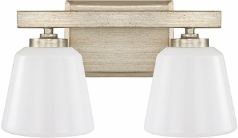 Capital Lighting 8532WG-300 Berkeley Winter Gold 2-Light Bathroom Vanity Lighting