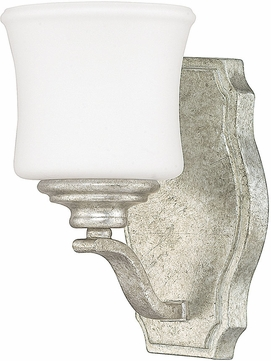 Capital Lighting 8551AS-299 Blair Traditional Antique Silver Wall Lighting Sconce