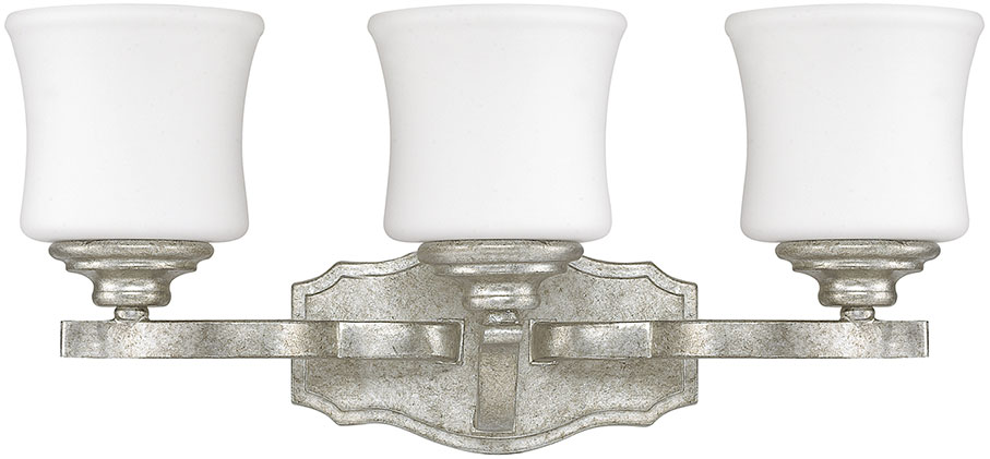Capital Lighting 8553AS-299 Blair Traditional Antique Silver 3-Light Vanity  Light Fixture. Loading zoom - Capital Lighting 8553AS-299 Blair Traditional Antique Silver 3-Light