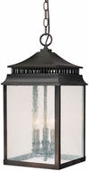 Capital Lighting 9116OB Sutter Creek Old Bronze Outdoor Ceiling Pendant Light