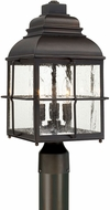 Capital Lighting 917833OB Lanier Old Bronze Outdoor Post Lighting