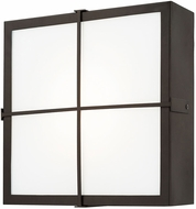 Capital Lighting 918411OB-LD Contemporary Old Bronze LED Exterior Wall Sconce Light
