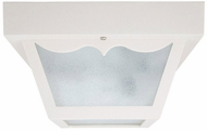 Capital Lighting 9239WH White Outdoor Ceiling Lighting Fixture