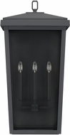 Capital Lighting 926231BK Donnelly Black Exterior Wall Sconce Lighting