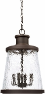 Capital Lighting 926542OZ Tory Contemporary Oiled Bronze Outdoor Hanging Pendant Light
