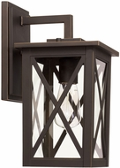 Capital Lighting 926611OZ Avondale Contemporary Oiled Bronze Outdoor Wall Light Sconce