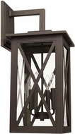 Capital Lighting 926641OZ Avondale Contemporary Oiled Bronze Outdoor Wall Sconce