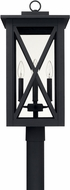 Capital Lighting 926643BK Avondale Modern Black Exterior Post Lamp