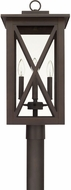 Capital Lighting 926643OZ Avondale Contemporary Oiled Bronze Outdoor Lamp Post Light