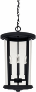 Capital Lighting 926742BK Howell Black Exterior Drop Lighting