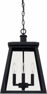 Capital Lighting 926842BK Belmore Black Exterior Ceiling Light Pendant