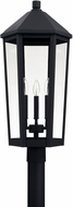 Capital Lighting 926934BK Ellsworth Black Exterior Post Light Fixture