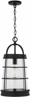 Capital Lighting 927412BK Modern Black Outdoor Drop Ceiling Lighting