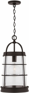 Capital Lighting 927412OZ Contemporary Oiled Bronze Exterior Ceiling Light Pendant