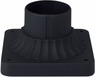 Capital Lighting 929902BK Black Exterior Post Mount