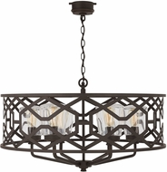 Capital Lighting 934461OZ Contemporary Oiled Bronze Exterior Lighting Chandelier