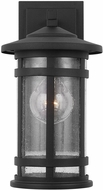 Capital Lighting 935511BK Mission Hills Black Outdoor Wall Sconce