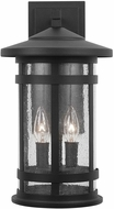 Capital Lighting 935521BK Mission Hills Black Outdoor Wall Lighting