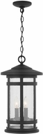 Capital Lighting 935532BK Mission Hills Black Outdoor Pendant Light