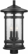 Capital Lighting 935533BK Mission Hills Black Outdoor Post Lighting