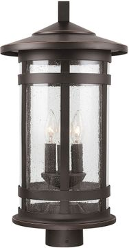 Capital Lighting 935533OZ Mission Hills Oiled Bronze Exterior Post Lamp