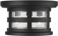 Capital Lighting 935534BK Mission Hills Black Outdoor Ceiling Lighting Fixture