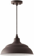 Capital Lighting 936311OZ RLM Oiled Bronze 14  Hanging Light