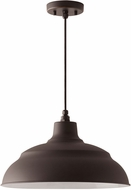Capital Lighting 936312OZ RLM Oiled Bronze 17  Lighting Pendant